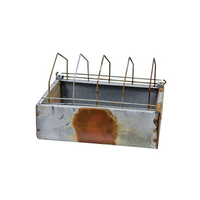 Vintage Metal Planter Box