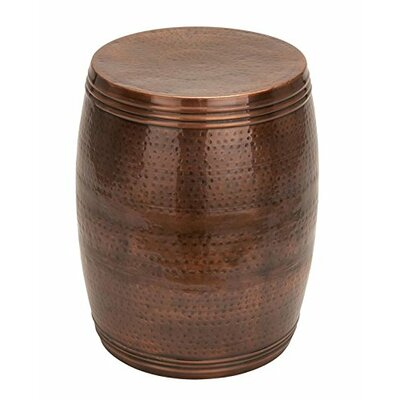 Metal Garden Stool Finish: Bronze
