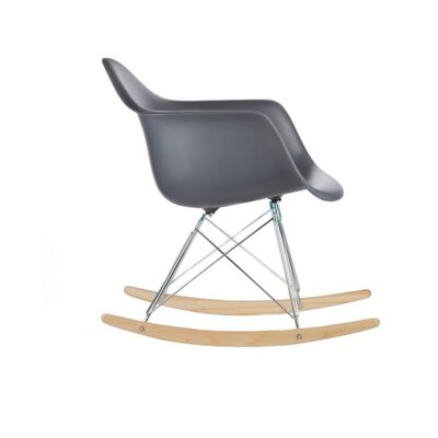 Eula Rocking Chair Color: Dark Gray