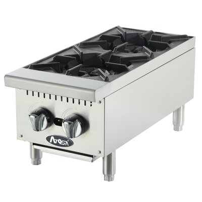 Gas Double Burner Hotplate Gas Type: Natural Gas