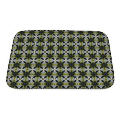 Slide Ethnic Pattern Geometric Kaleidoscope Bath Rug Size: Small