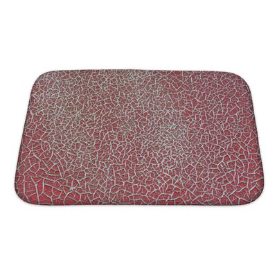 Cappa Weathered Empty Surface with Rough Bath Rug Size: Small
