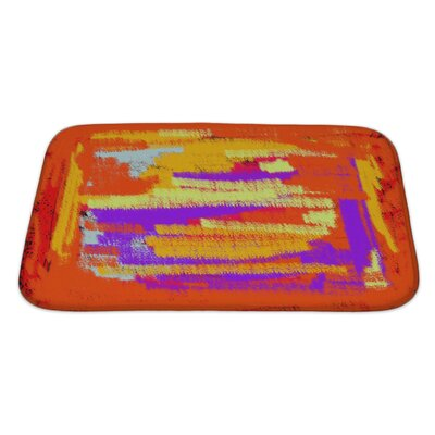 Art Touch Bright Abstract Color for Bath Rug Size: Large