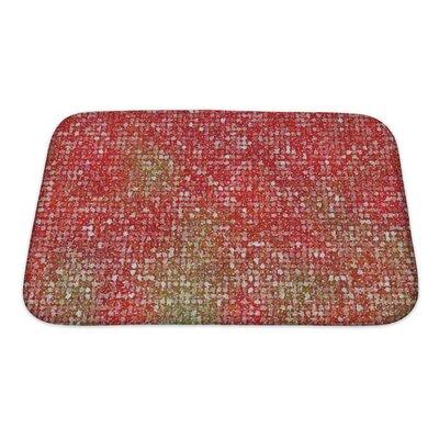 Kilo Pointillized Abstract Bath Rug Size: Small