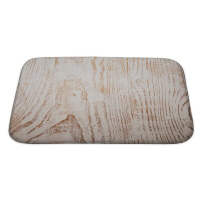 Wood Grunge From Painted Wooden Plank Bath Rug Size: Large