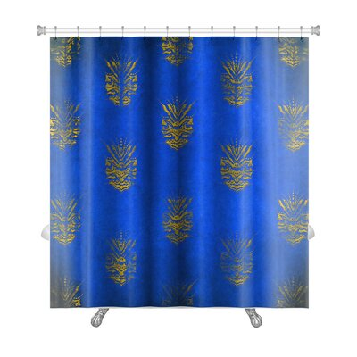 Alpha Vintage Premium Shower Curtain