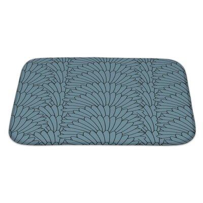 Simple Abstract Stylish Array Bath Rug Size: Large