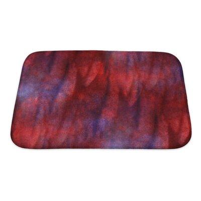 Art Primo Impressionism Artist Watercolor Wallpaper of Handmade Bath Rug Size: Small