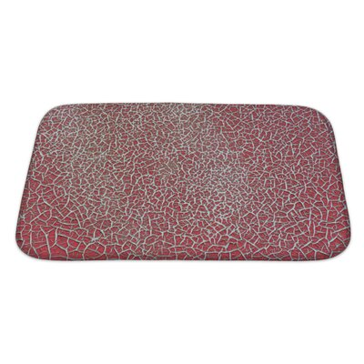 Cappa Weathered Empty Surface with Rough Bath Rug Size: Large