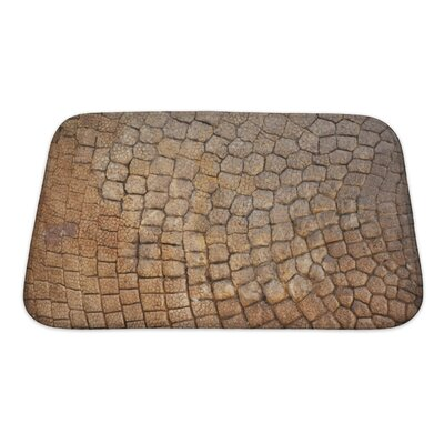 Delta Bone Armor Bath Rug Size: Small