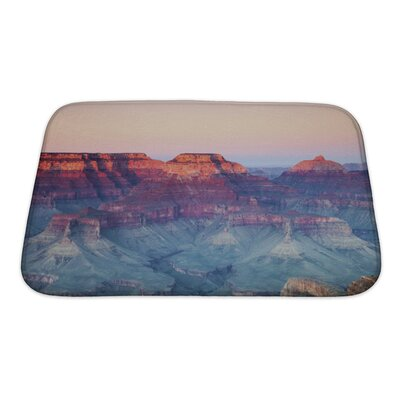 Landscapes Grand Canyon National Park, Arizona, United States Bath Rug Size: Small