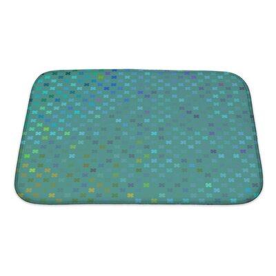 Cappa Leaf Pattern Bath Rug Size: Small