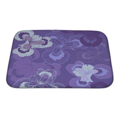 Cappa Floral Bath Rug Size: Small
