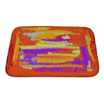 Art Touch Bright Abstract Color for Bath Rug Size: Small