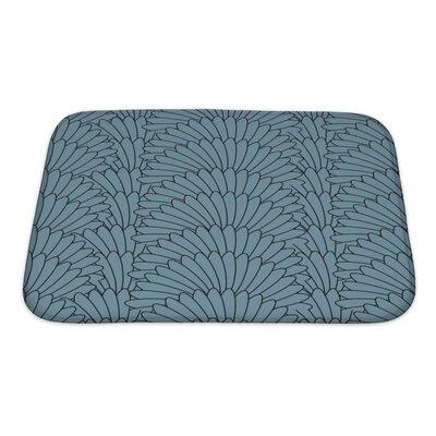 Simple Abstract Stylish Array Bath Rug Size: Small