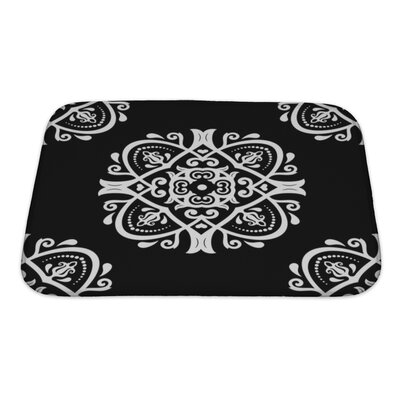 Primo Traditional Oriental Elements Bath Rug Size: Small