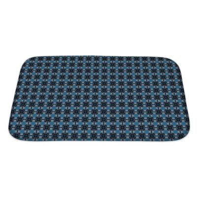 Slide Ethnic Pattern Abstract Kaleidoscope Bath Rug Size: Large