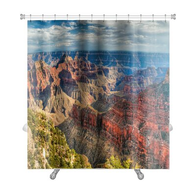 Landscapes North Rim of the Grand Canyon Premium Shower Curtain