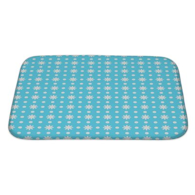Delta Beautiful Ditsy Floral Bath Rug Size: Large