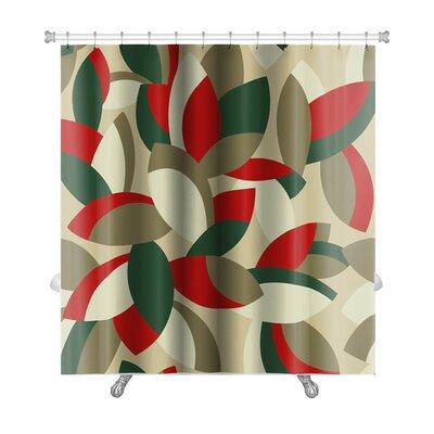 Cappa Floral Pattern Premium Shower Curtain