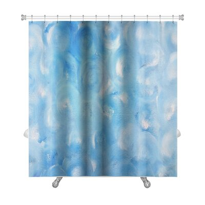 Cappa Abstract Painting Premium Shower Curtain