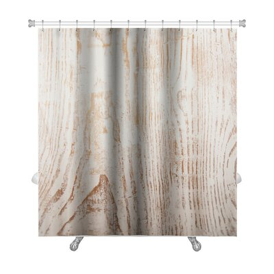 Wood Grunge from Painted Wooden Plank Premium Shower Curtain