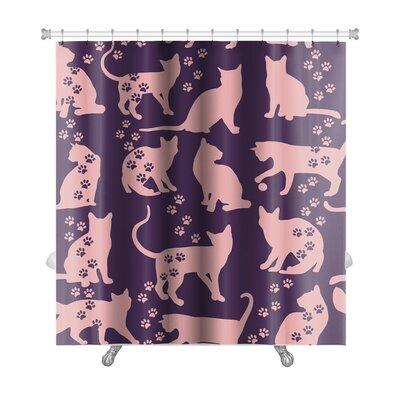 Animals Cat Premium Shower Curtain