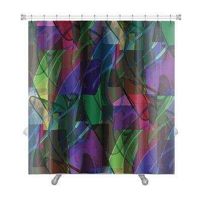 Art Alpha America Ancient Wallpaper Cubism Impressionism Premium Shower Curtain