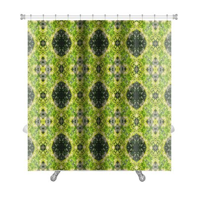 Primo Ethnic Pattern Abstract Kaleidoscope Premium Shower Curtain