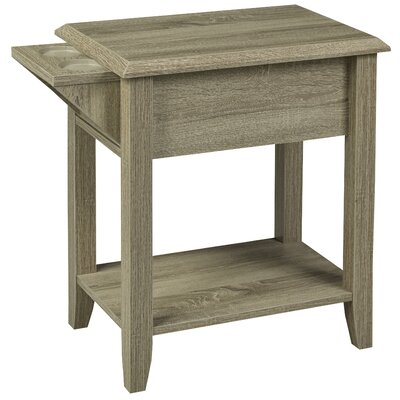 Multi-Tiered Telephone Table Color: Dark Taupe