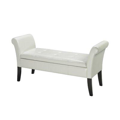 Storage Bench Color: White