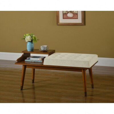 Upton Cheyney Tufted Telephone Wood Bench