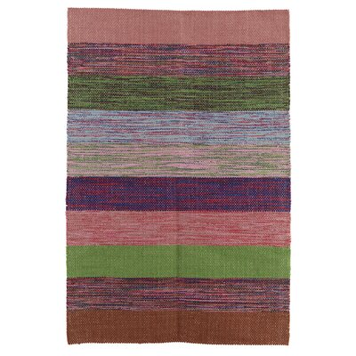 House Doctor Everyday 2016 Green / Pink Area Rug