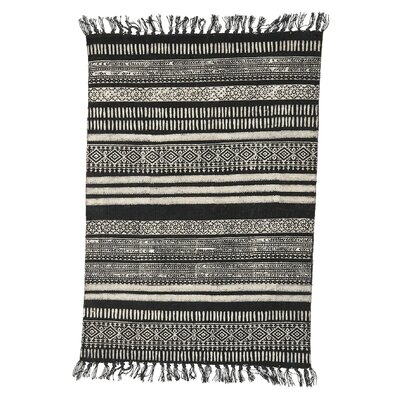 House Doctor Everyday 2016 Black / Grey Area Rug