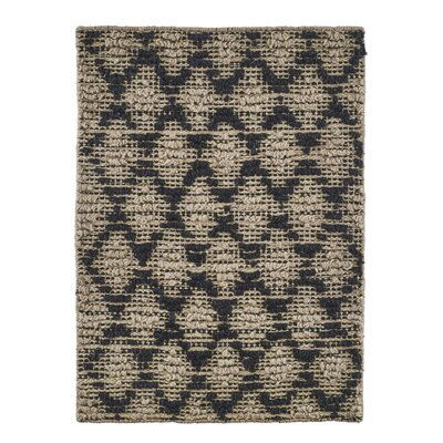 House Doctor Everyday 2016 Black/Natural Area Rug