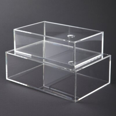 House Doctor Everyday 2016 2 Piece Boxes with Lids Set