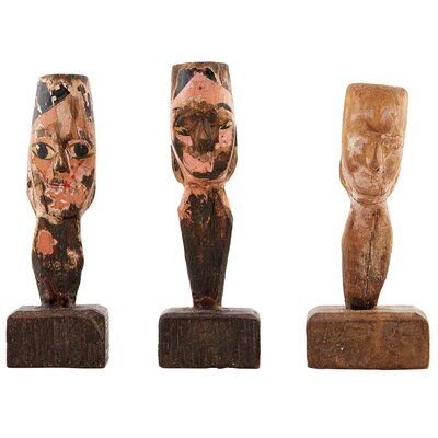 House Doctor Everyday 2016 3 Piece All Different Statues Set