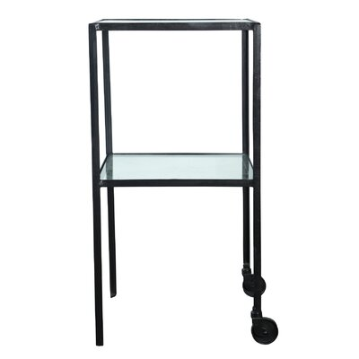 House Doctor Everyday 2016 Trolley with Glass Shelf
