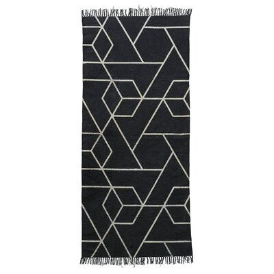 House Doctor Everyday 2016 Black Area Rug