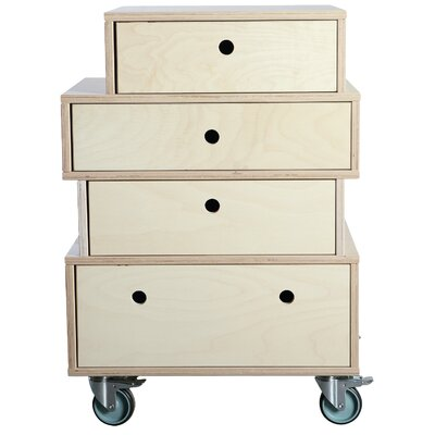 House Doctor Everyday 2016 4 Drawer Chest of Drawers