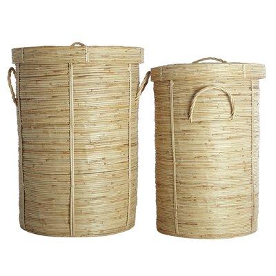 House Doctor Everyday 2016 2 Piece Chaka Laundry Basket Set