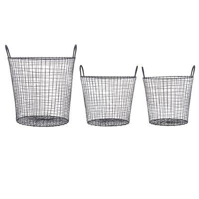 House Doctor Everyday 2016 3 Piece Wire Basket Set