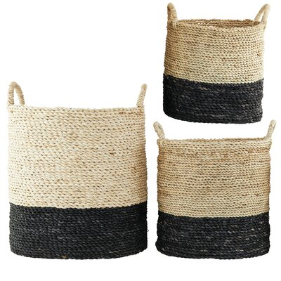 House Doctor Everyday 2016 3 Piece Tall Basket Set
