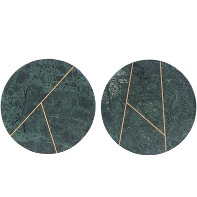 House Doctor Everyday 2016 2 Piece Marble Plate Set