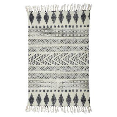 House Doctor Everyday 2016 Grey / Black Area Rug