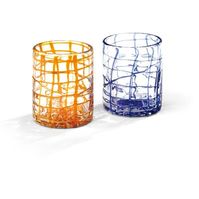 Deagourmet Sole and Ghiaccio 2 Pieces 440ml Water Glass Set