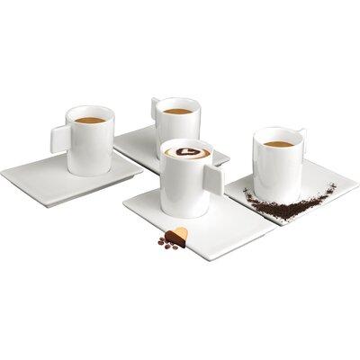Deagourmet Geo Espresso Cup and Saucer Set