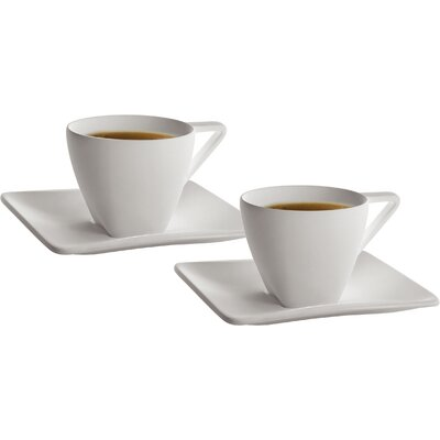 Deagourmet Iside Espresso Cup and Saucer Set