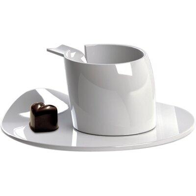 Deagourmet Materia Espresso Cup and Saucer Set