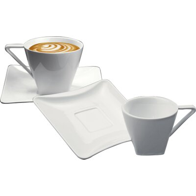 Deagourmet Iside Breakfast Cup and Saucer Set